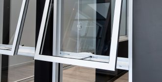 Ascend awning window in Pearl White