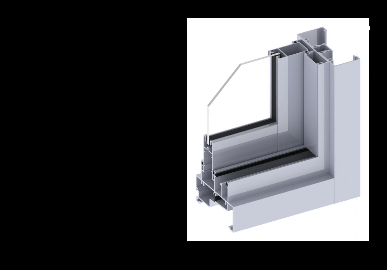 Ascend40 sliding window section
