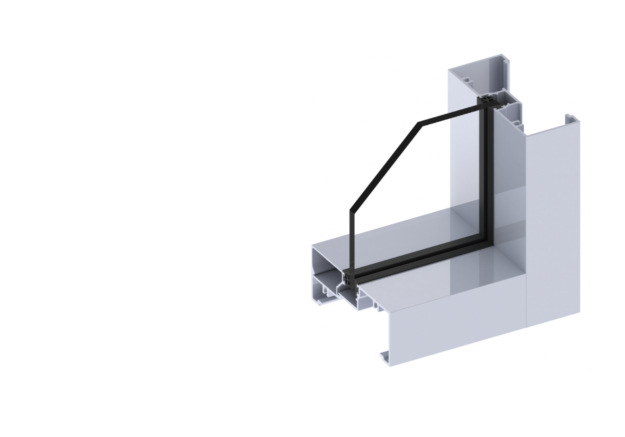 Ascend fixed window section