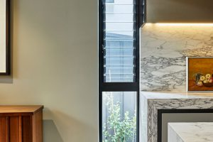 Kingsford project: Paragon louvre window