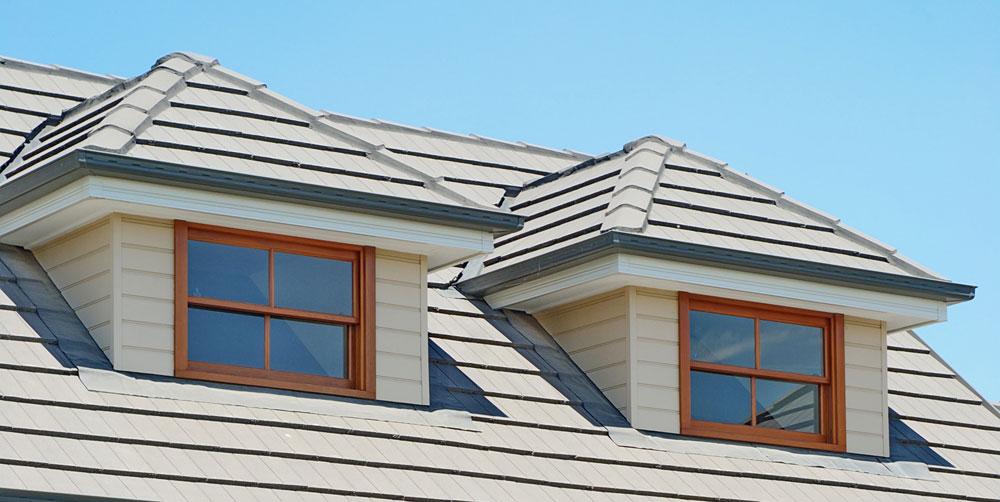 Natura timber double hung windows external view