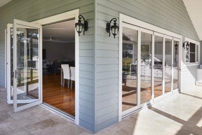 Yellow Rock project: Paragon bi-fold doors