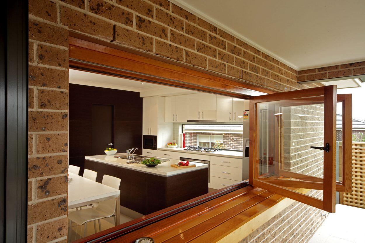 Natura timber Bi-fold window