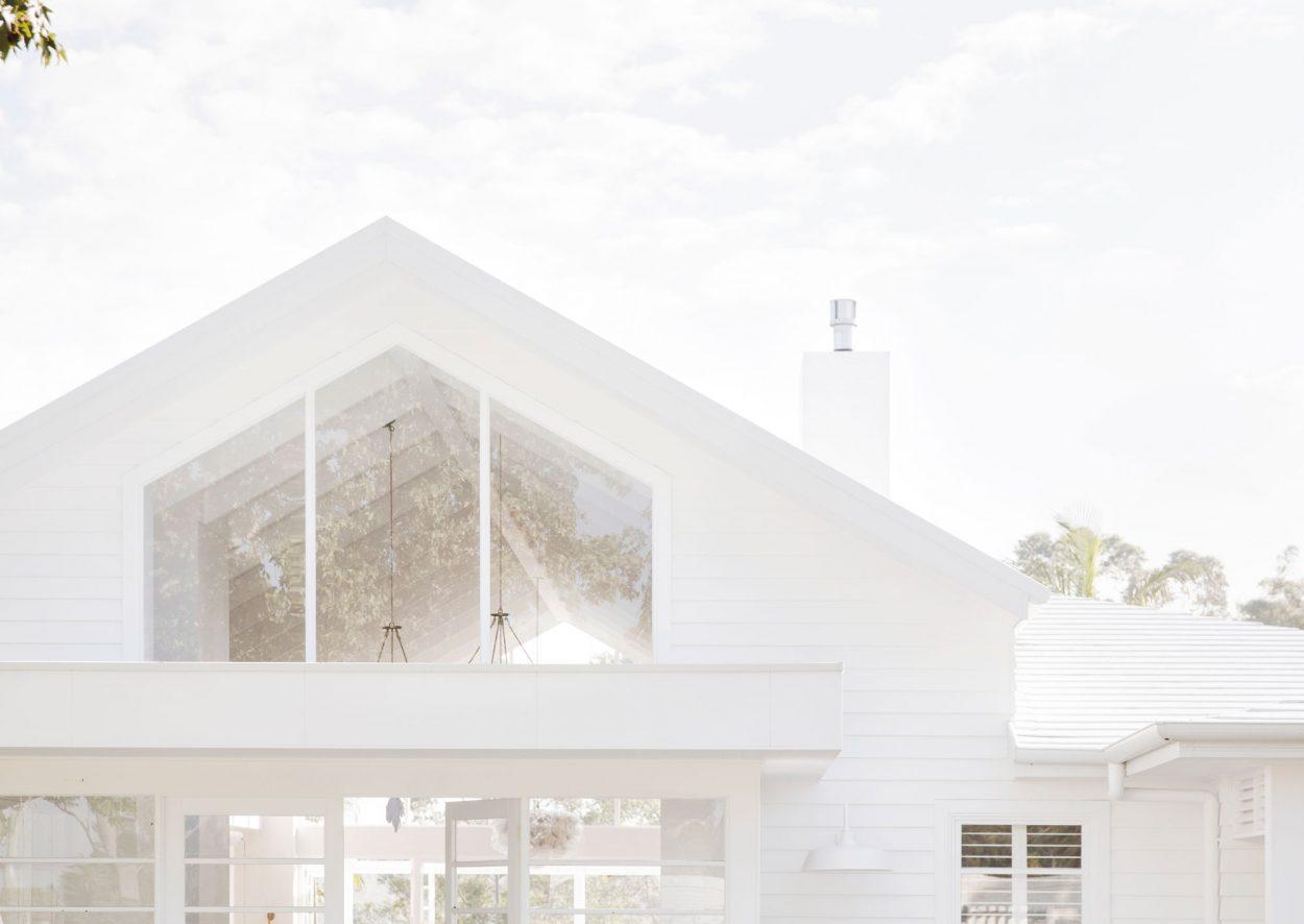 Natura timber rake windows