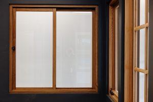 Wideline timber sliding window and hardware