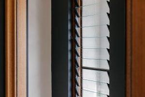 Natura timber louvre window frame