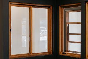 Sliding and casement timber windows
