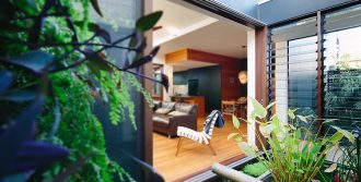 Timber louvre window