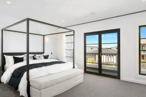 Horizon french doors and awning windows with glazing bars