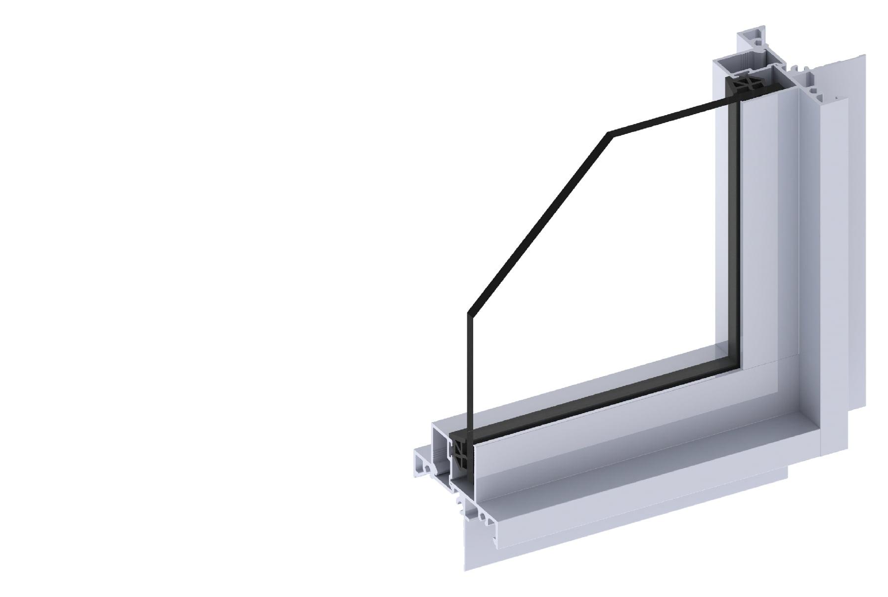 Horizon fixed window section