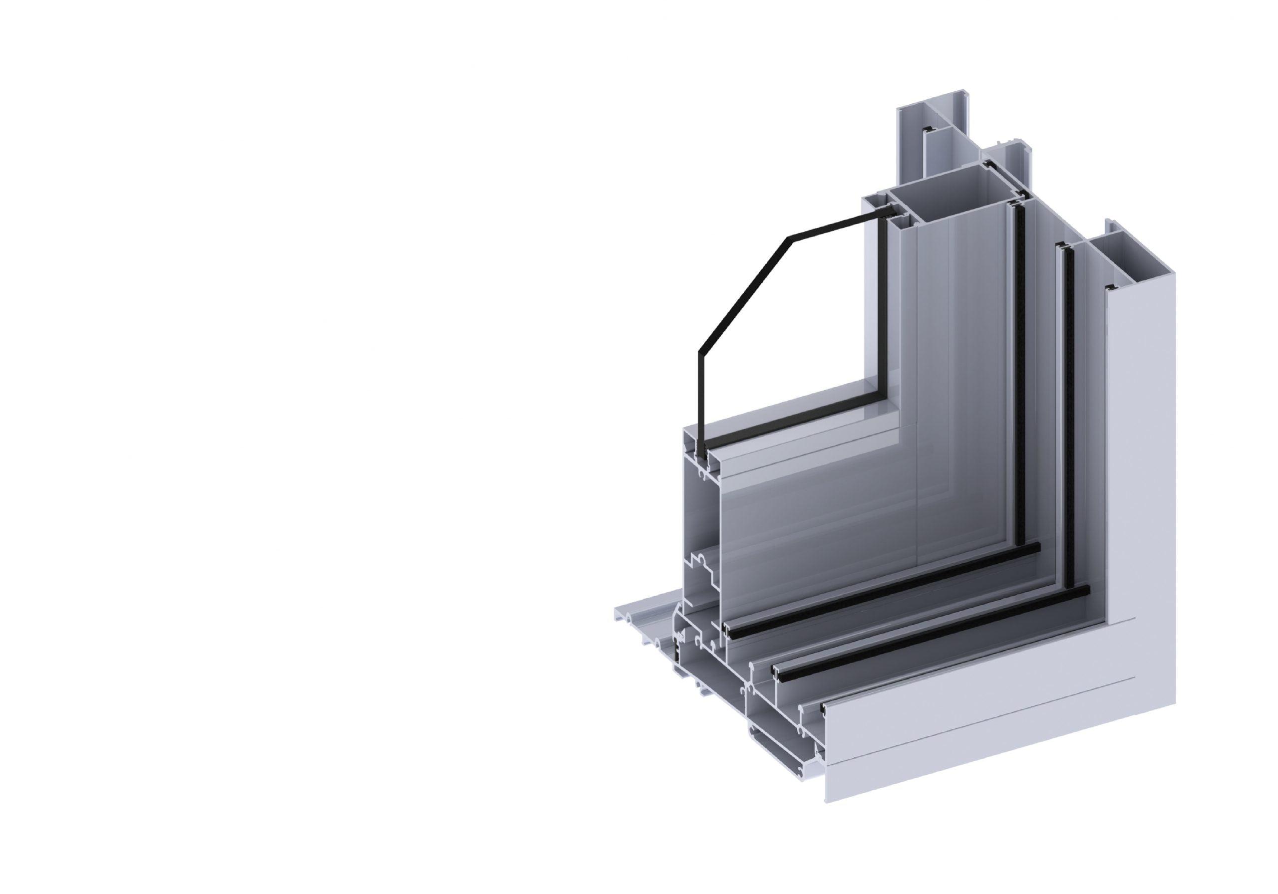 Paragon cavity door section