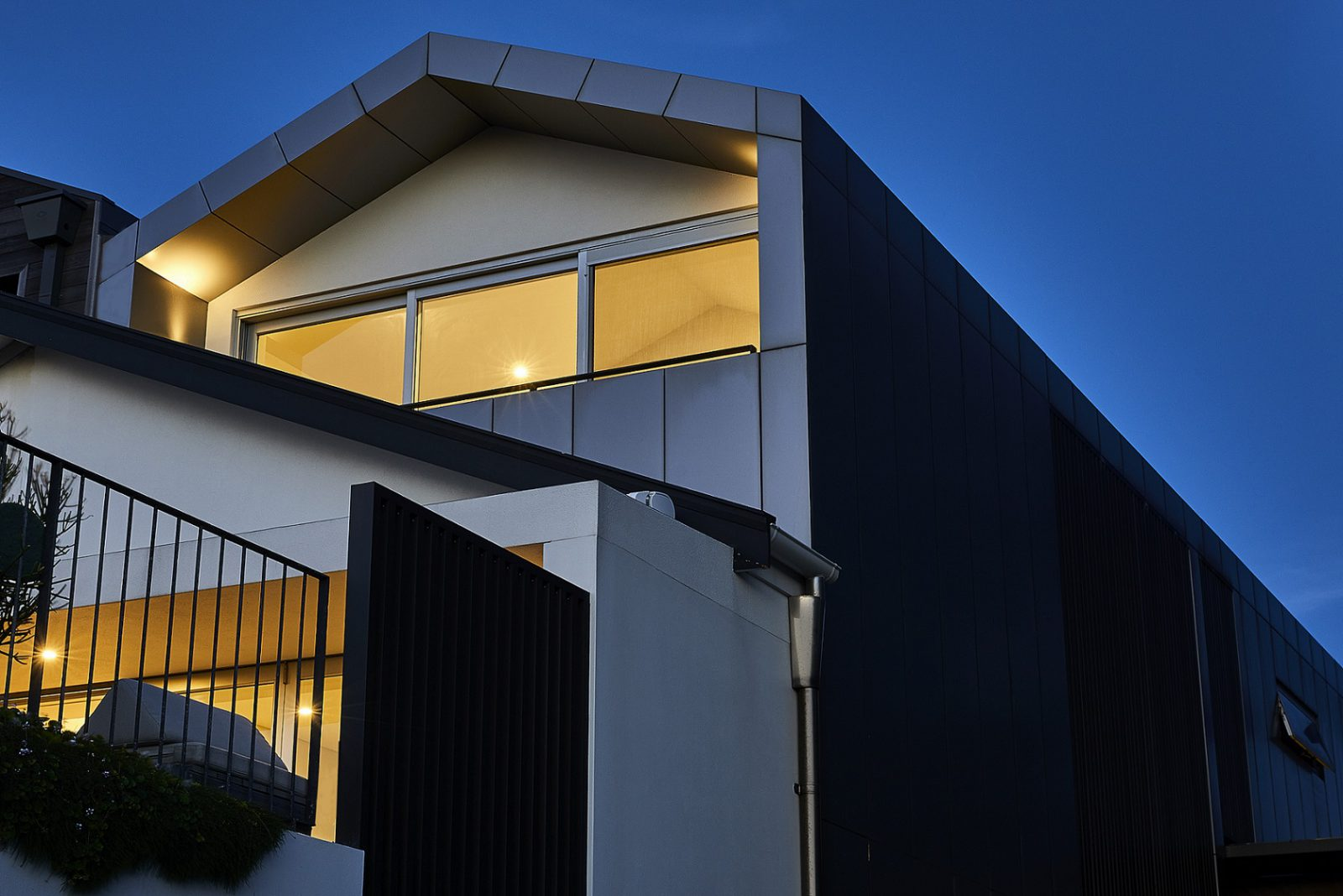 Industrial style facade at Bondi