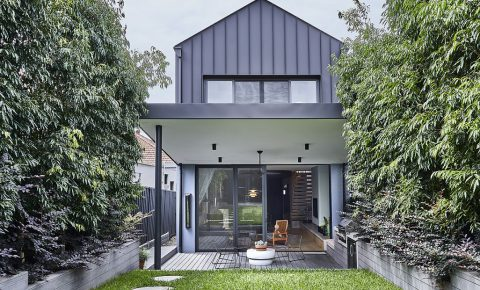 Architectural home at Kingsford