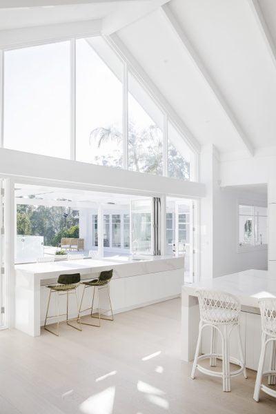 Three Birds kitchen with WIdeline windows