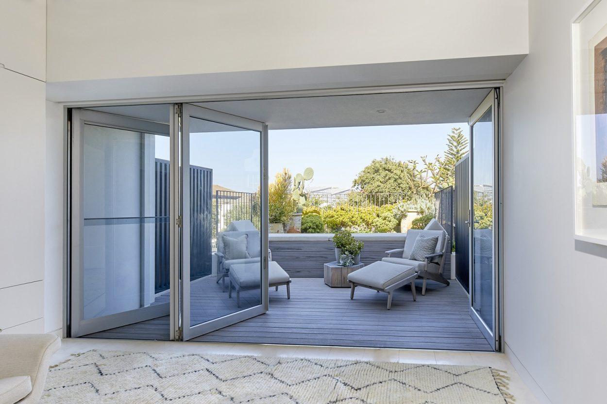 Bondi project with Paragon Bi-fold Doors