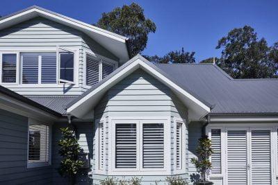 Blue Mountains home facade