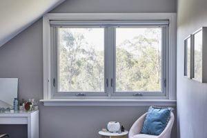 Paragon awning windows in Surfmist Matt