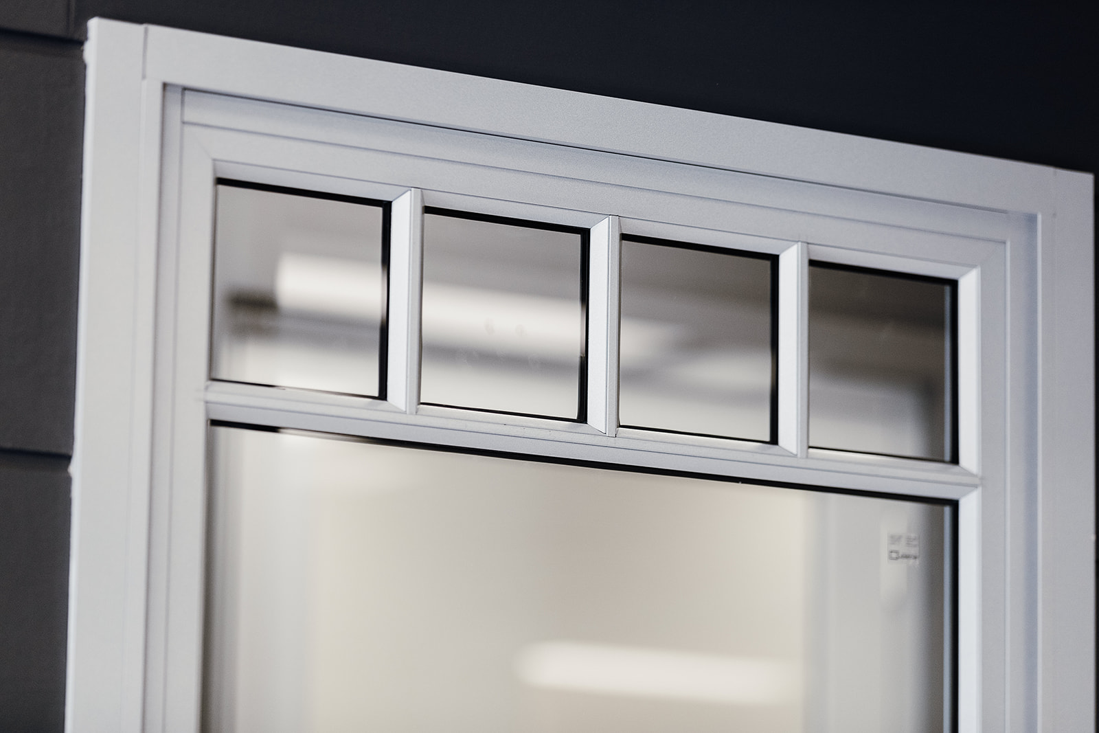 Paragon double hung window with glazing bars
