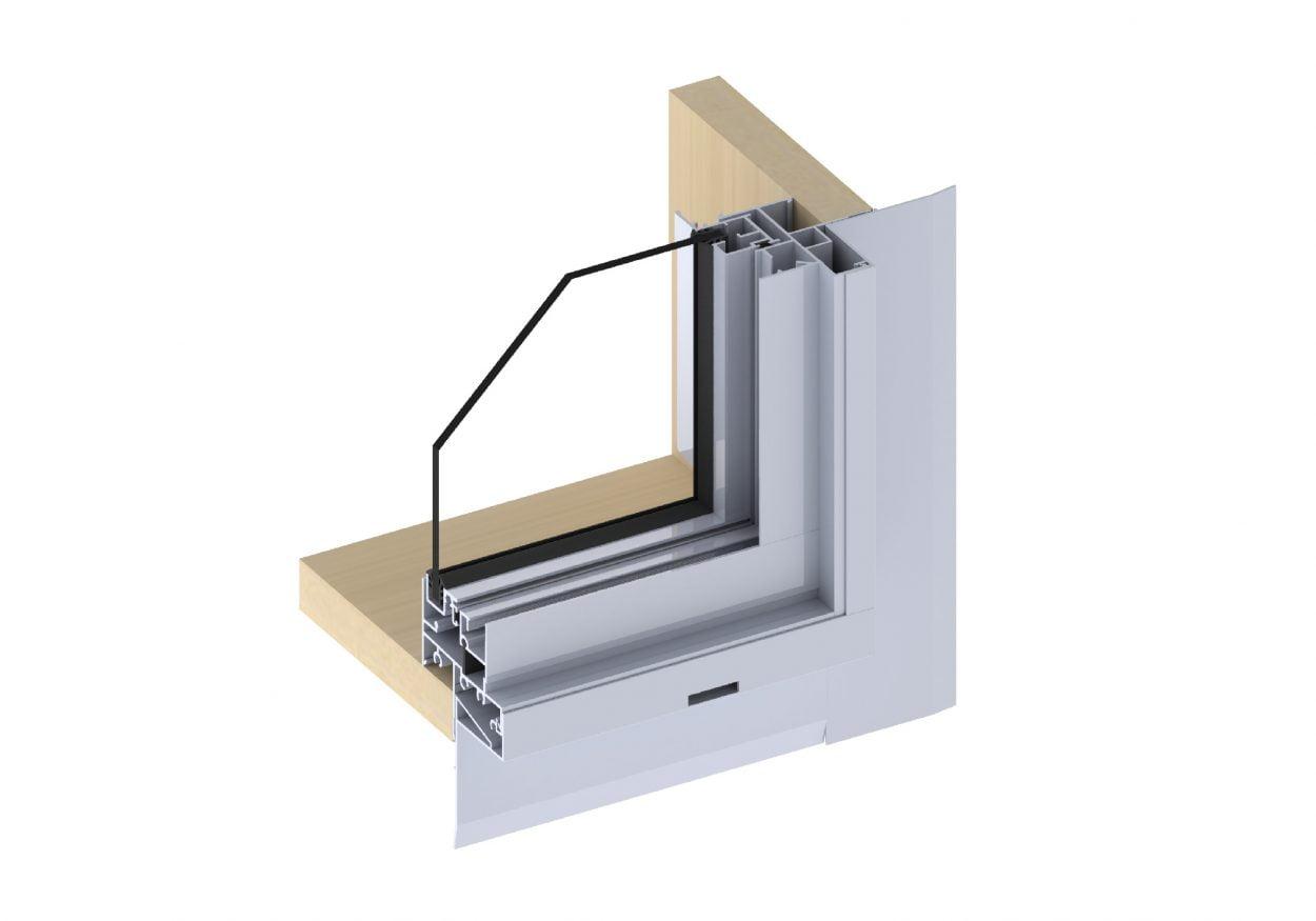 Horizon Sliding Window with HALO flashing